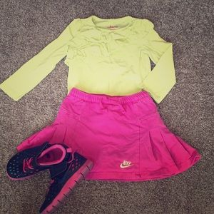 Girls 4T outfit w/shoes
